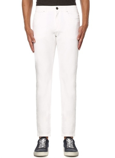 Beymen Collection Jean Pantolon Beyaz